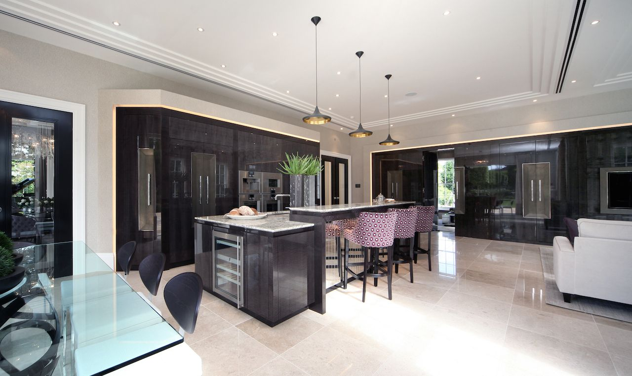 home interior kitchen designs. Interior design and furniture for principal family kitchen of prestigious  Wentworth Estate property Stephen Clasper Interiors Crossacres Spaces where eating is a
