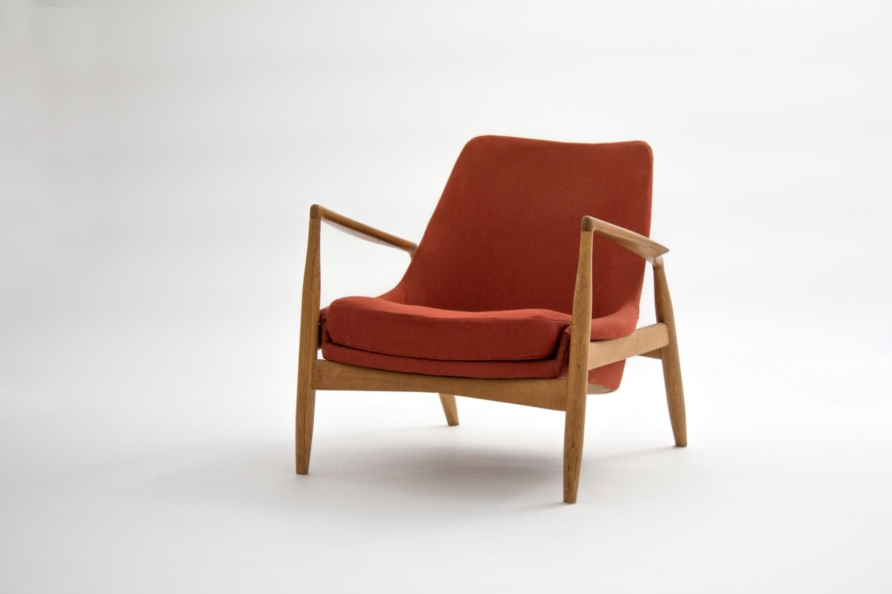 Danish Design Meubels : Swedish seal lounge chair by ib kofod larsen for ope 1956 1