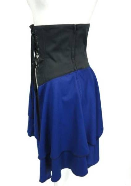 Black Peace Now over skirt corset / BPN_ image 2