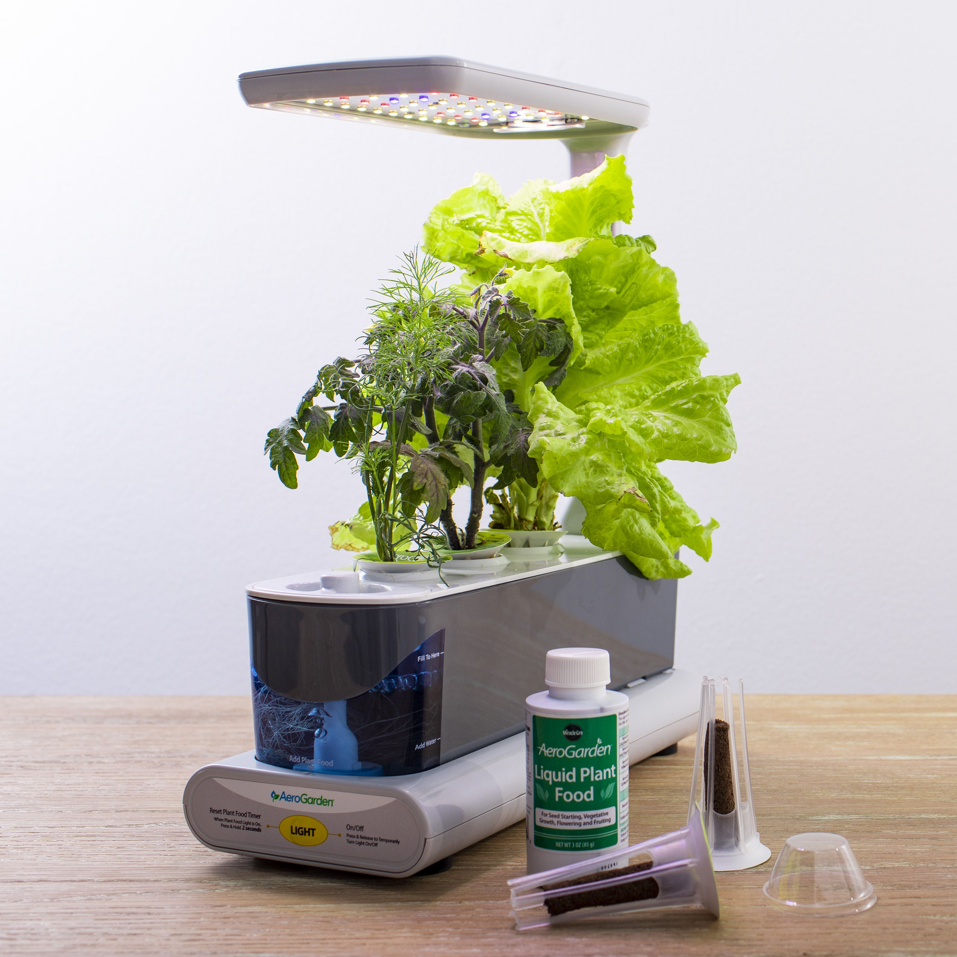 Exclusive Aerogarden Sprout Led Grey With Gourmet Herbs 400 x 300