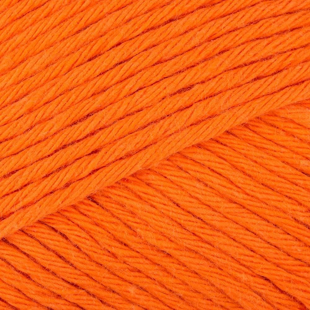 Paintbox Yarns Cotton Aran - Blood Orange (620) - For a massive range of rainbow colors, the Paintbox Cotton Aran yarn will not disappoint. Ideal for knitting clothes for the kids, for grown-ups as well as home textiles, this bold, machine-washable worsted weight yarn has as many uses as your imagination can stretch to.. SKU: .