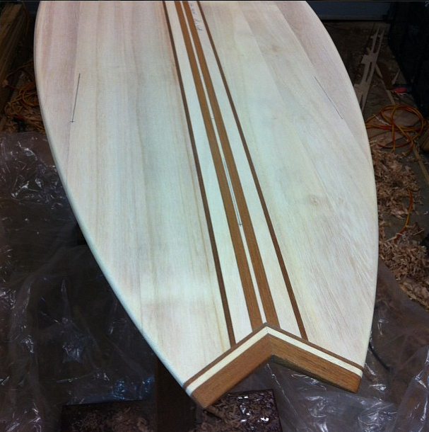 Salted Boards | Grown Surfboards, made from recycled timber #surfboard #wood #timber #recycled #surf #Australia