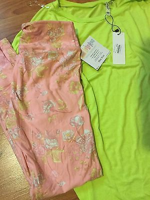 NWT Pink yellow flower LuLaRoE leggings OS M yellow shirt lot outfit irma type https://t.co/vSiAfEnUfk https://t.co/dtbojKef7n