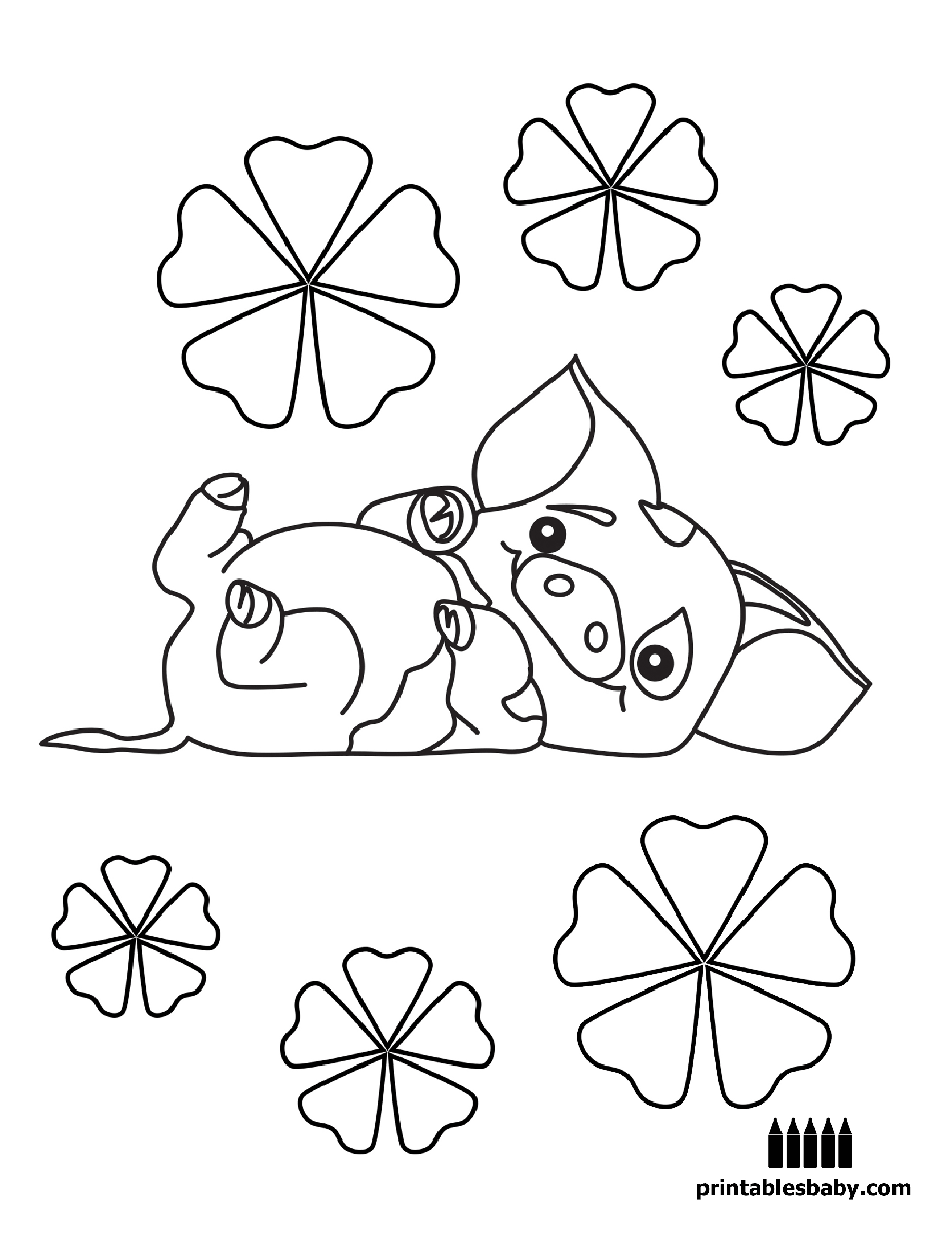 Co co color printouts in bangalore - Moana Printables Baby Free Cartoon Coloring Pages