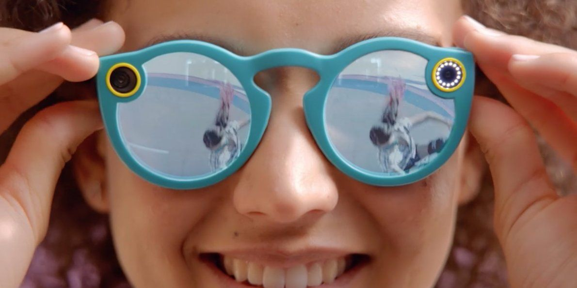 Snapchat has started selling its Spectacles camera glasses online. A pair costs $130.