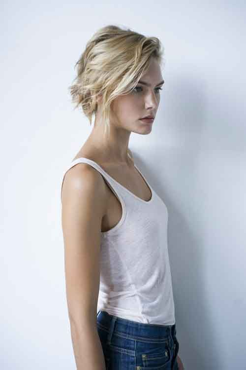 Short Hair Blonde Teen Bbc