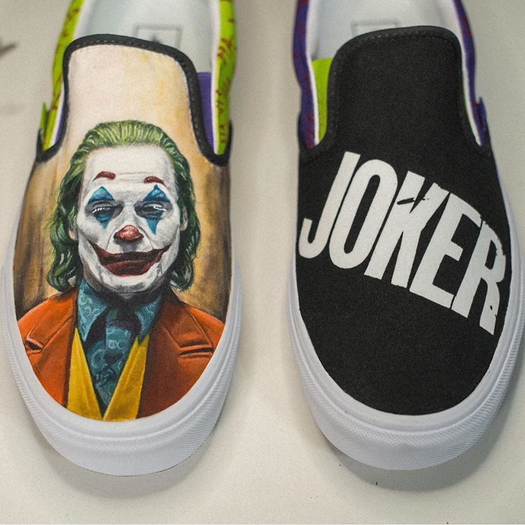 Joker Custom Vans ???? Rate these! Cop or Drop? Follow