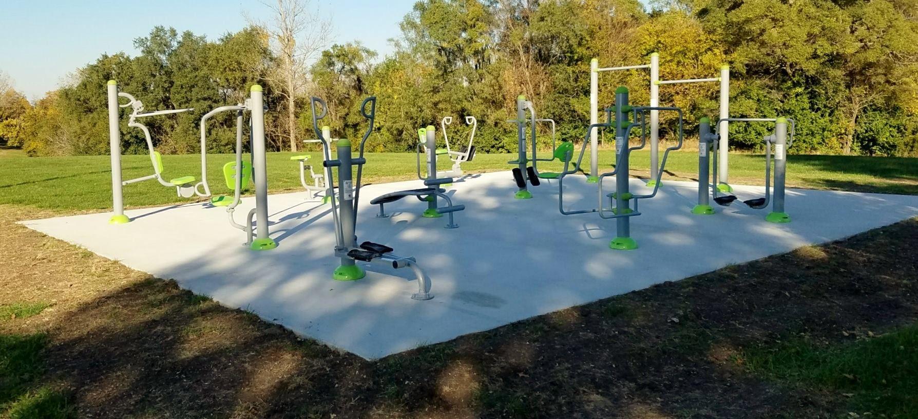 Exofit outdoor fitness park outdoor fitness equipment