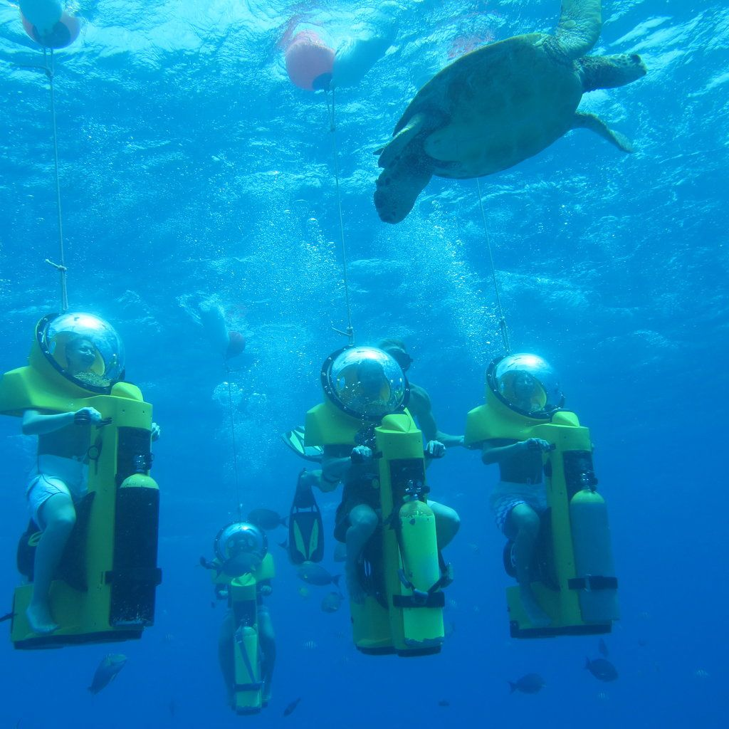 Oahu Submarine Scooter Adventure in 2020 Honolulu hawaii