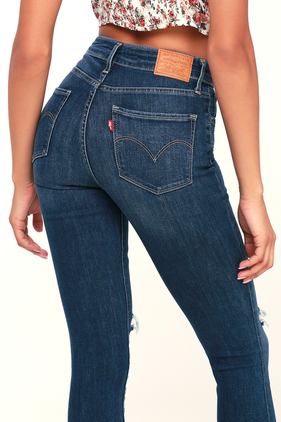 womens jeans with belt hoops