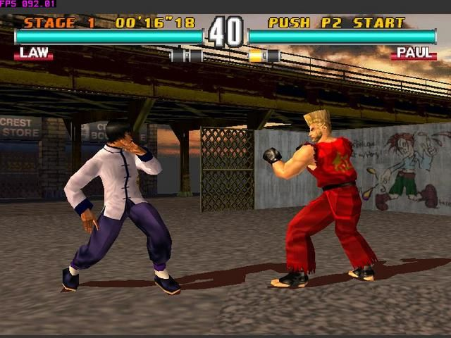 Tekken 3 PS1 ROM #29
