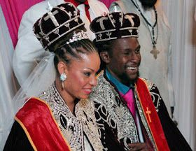 Jamaican bride and groom | African and African American Wedding ...