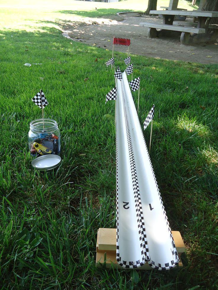 PVC track. Celebrating cars. -  - Rennsport -