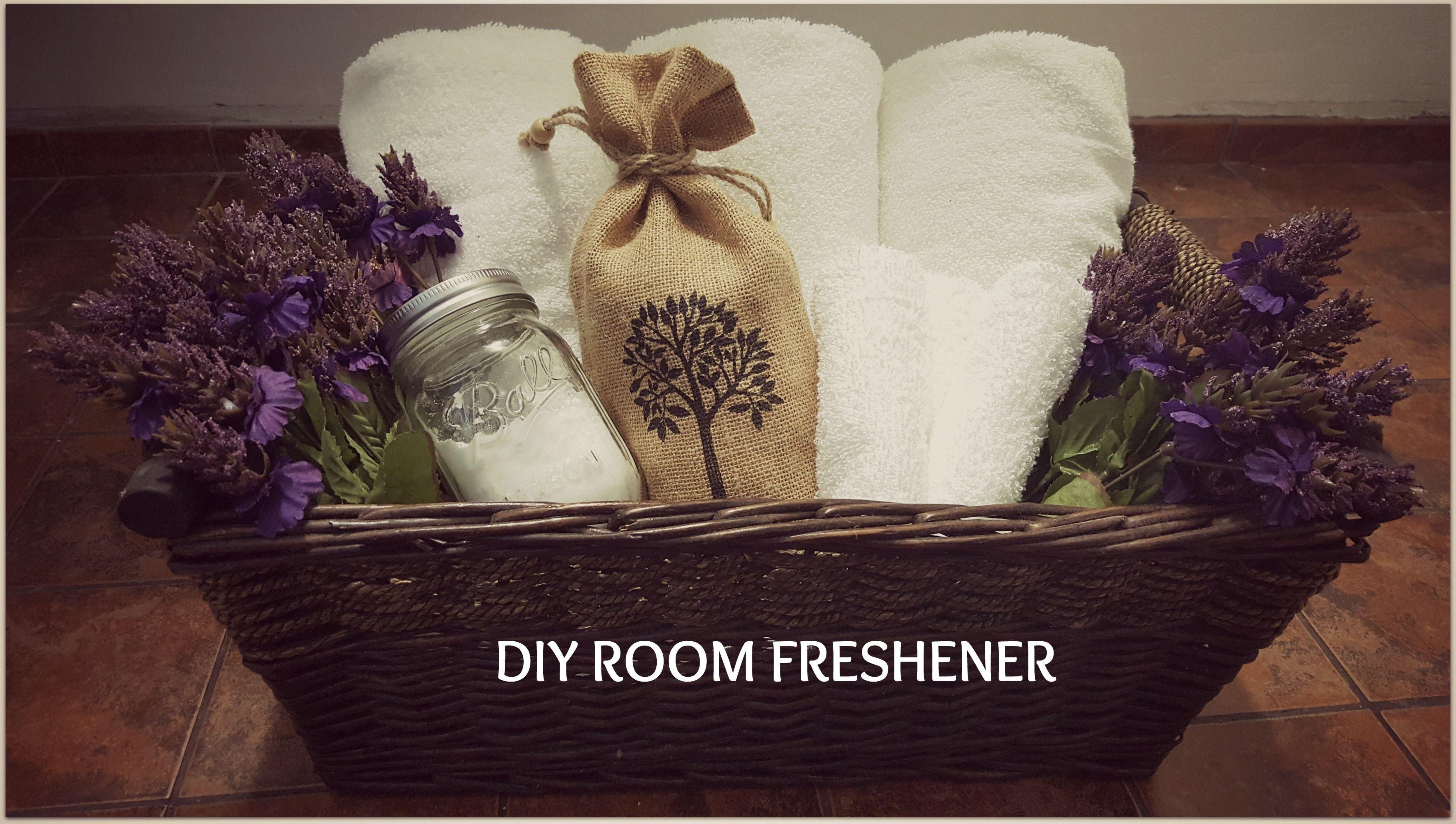 Do your own homemade DIY room freshener.