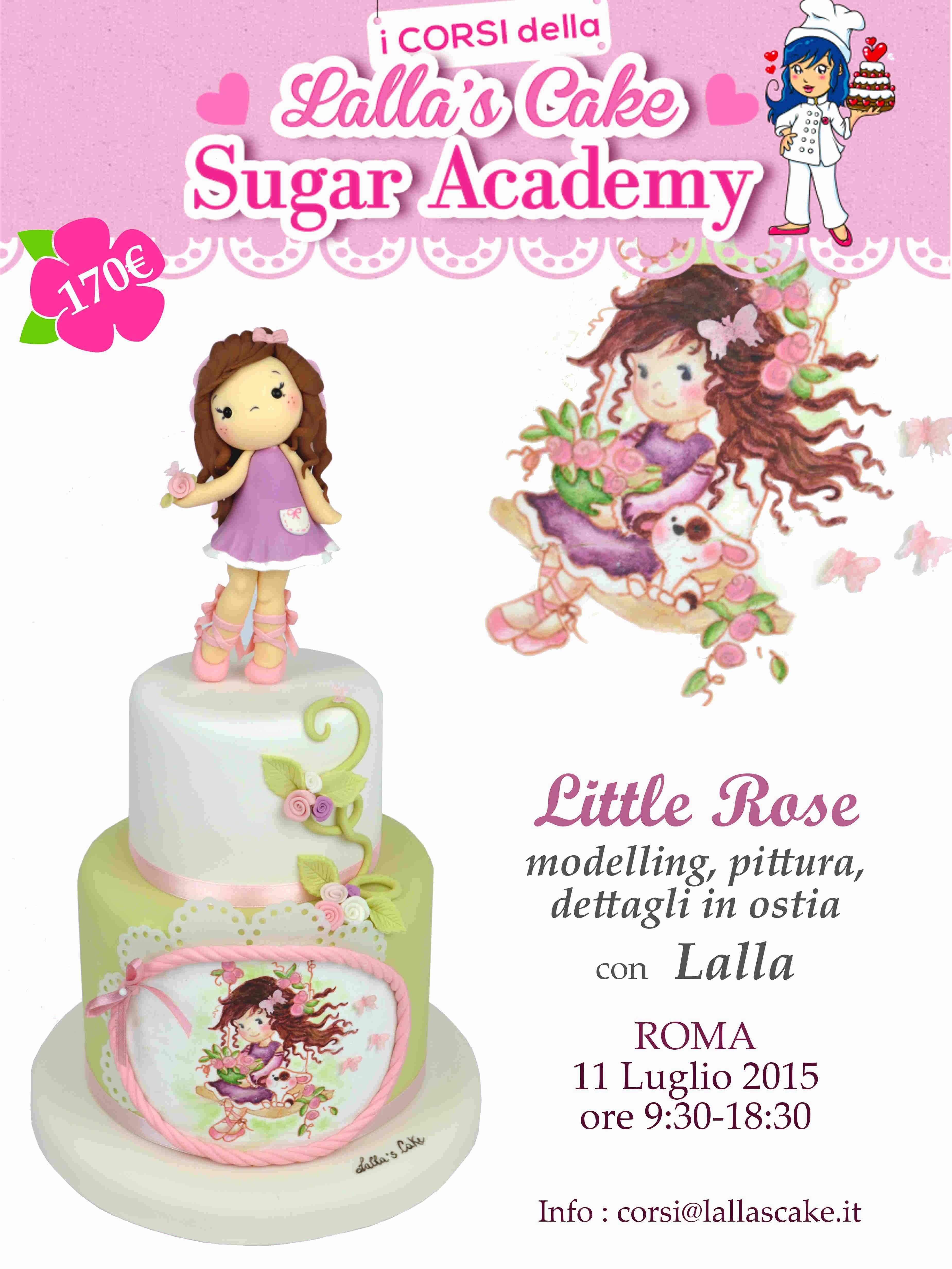 CORSI LUGLIO 2015   Lalla's Cake corsi di cake design, corsi di cake design Roma