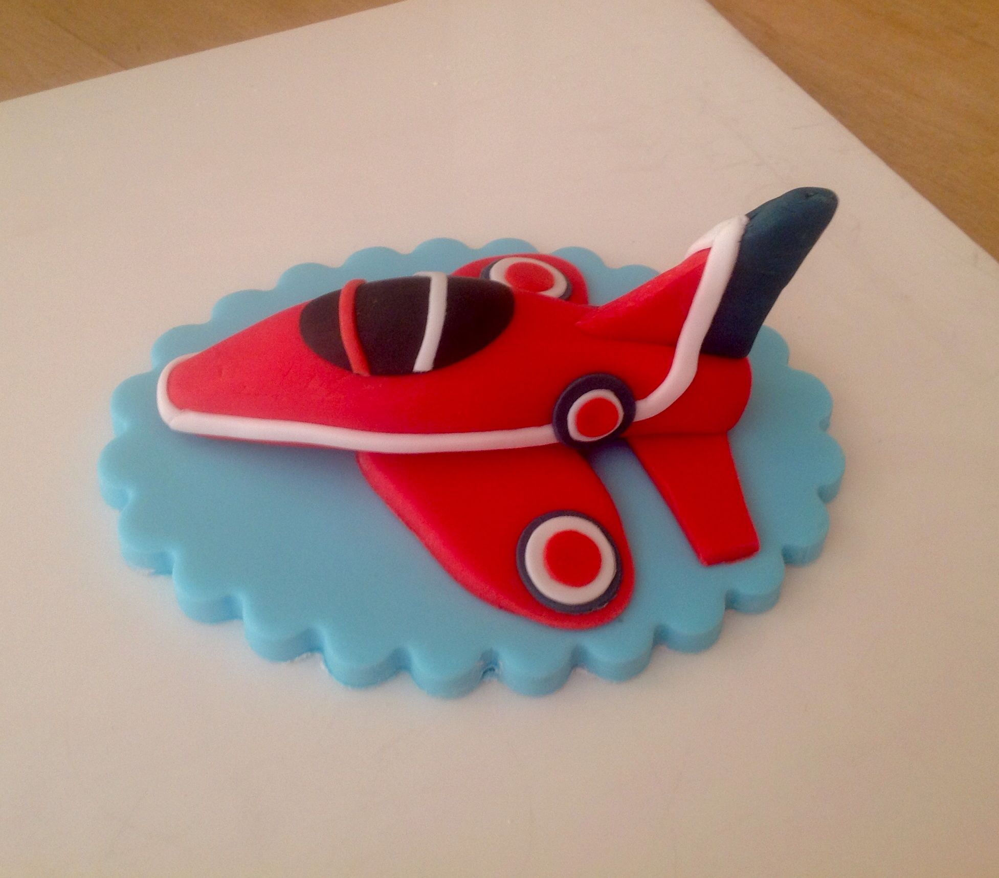 Red Arrow Cake Topper