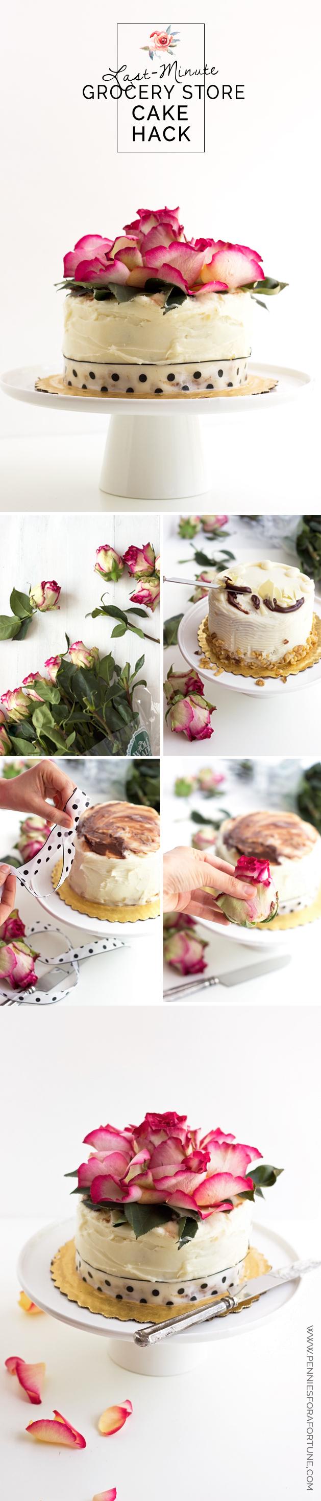 Sarnia Food Fresh Grocery Store Icing Cake