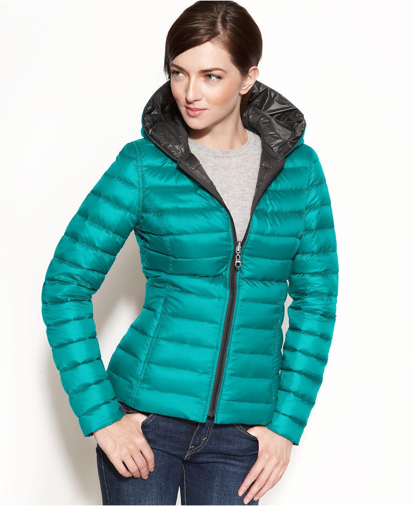 Nautica Reversible Hooded Quilted Packable Puffer Coats Women Macy S Reversible Clothing Coats For Women Puffer [ 1616 x 1320 Pixel ]