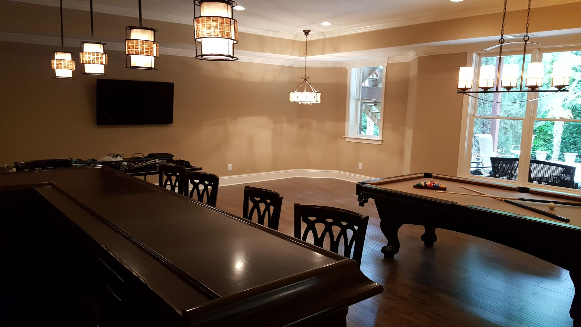 Atlanta Basements Decks Basement Finishing Home Remodeling Basement Remodel Diy Home Remodeling Basement Floor Plans