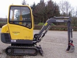 volvo ec15b xtv excavator workshop service repair manual volvo rh pinterest com Volvo Mini Excavator Volvo Dozer