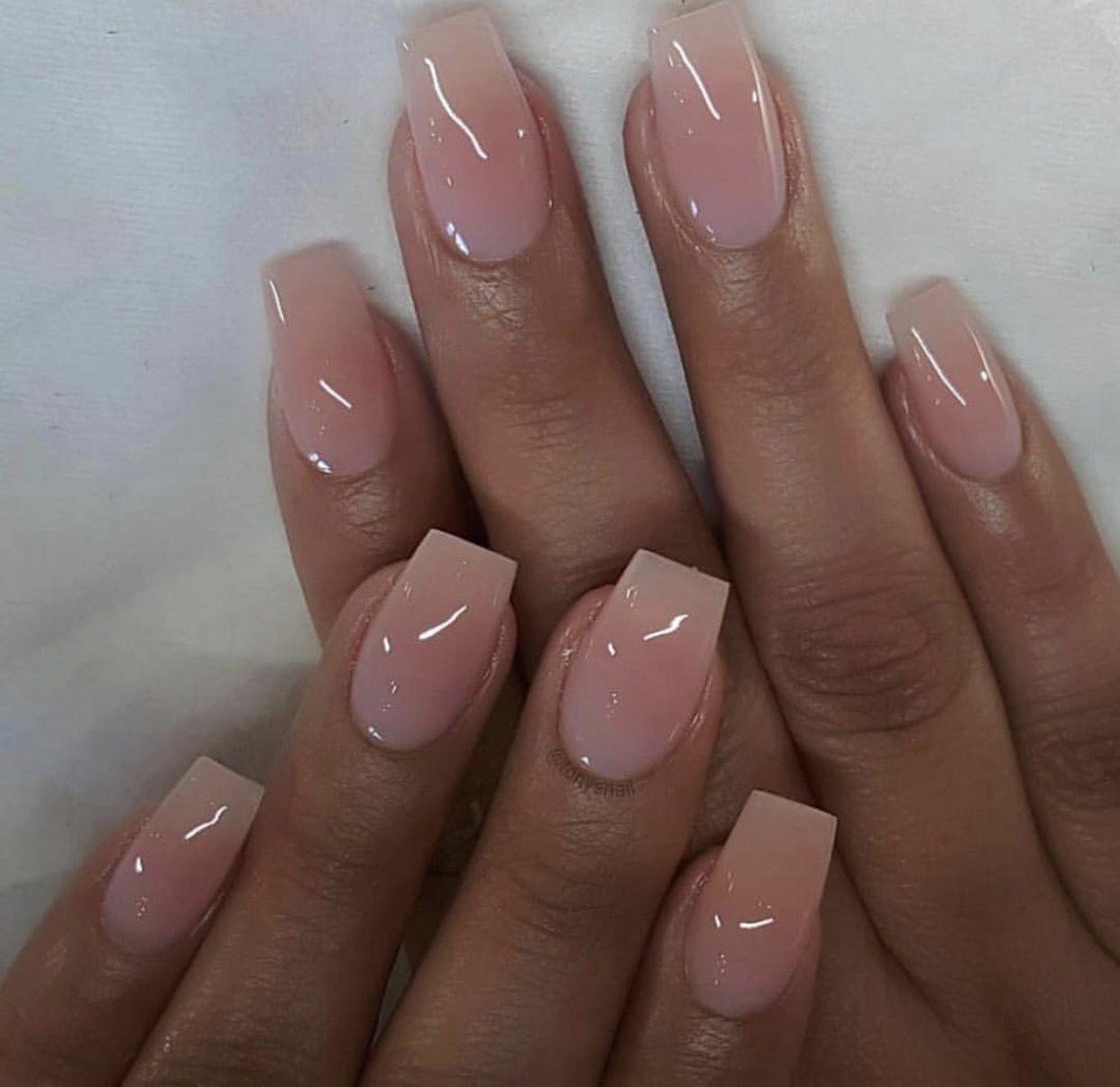 Pin By Yinet On Nailed Business Nails Cute Nails Pink Nails