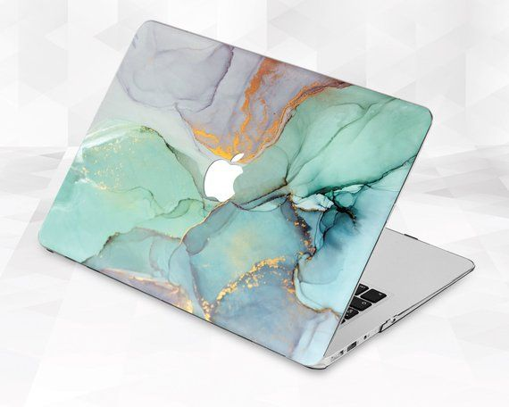 Marble Macbook case Ink Paint Macbook Pro 13 inch 2018 Air