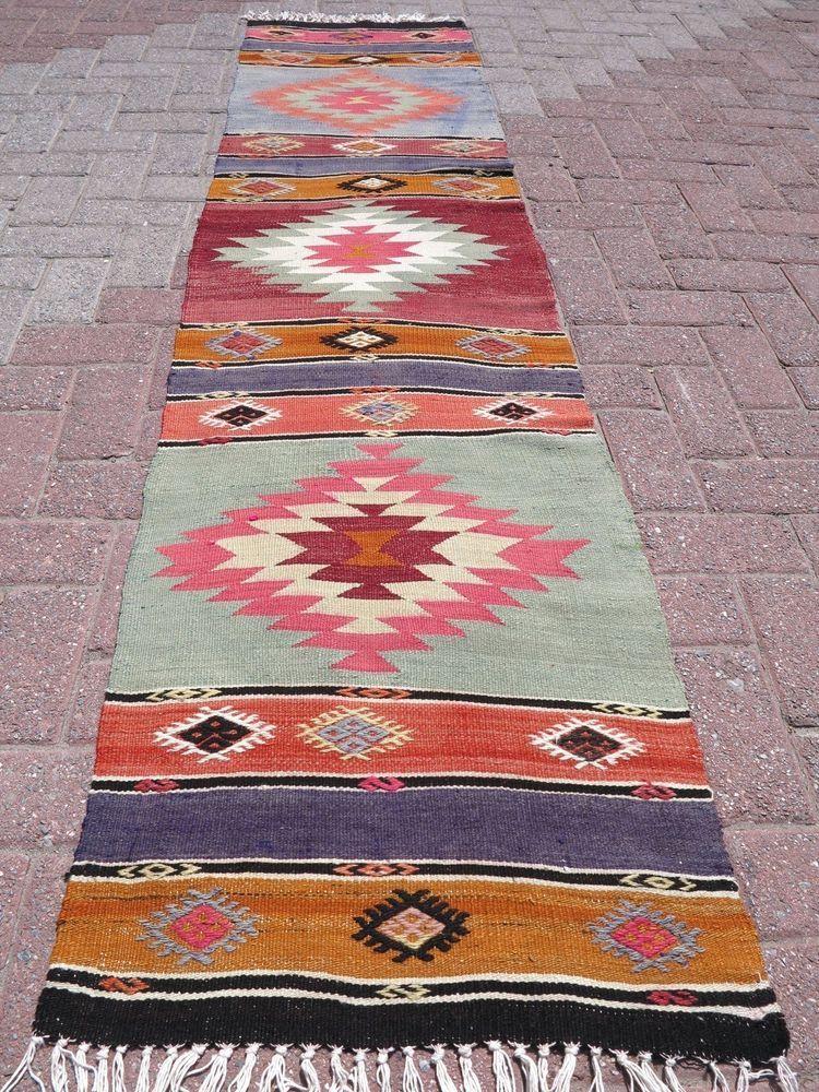 Rug And Kilim vintage kilim runner rugs carpet runner 22 x 96 4