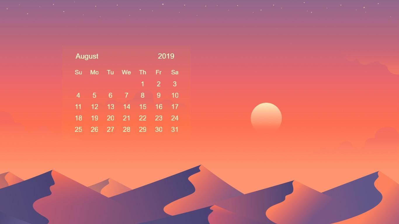 Free 2019 Calendar Hd Wallpapers Download