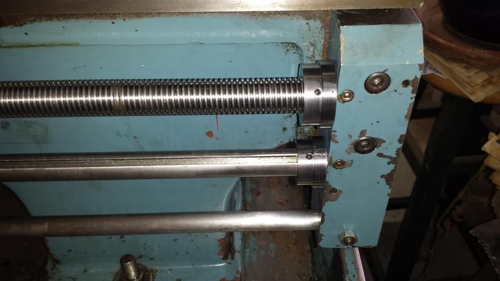 Thrust Bearings For Lathe Lead Screw And Feed Rod Tool