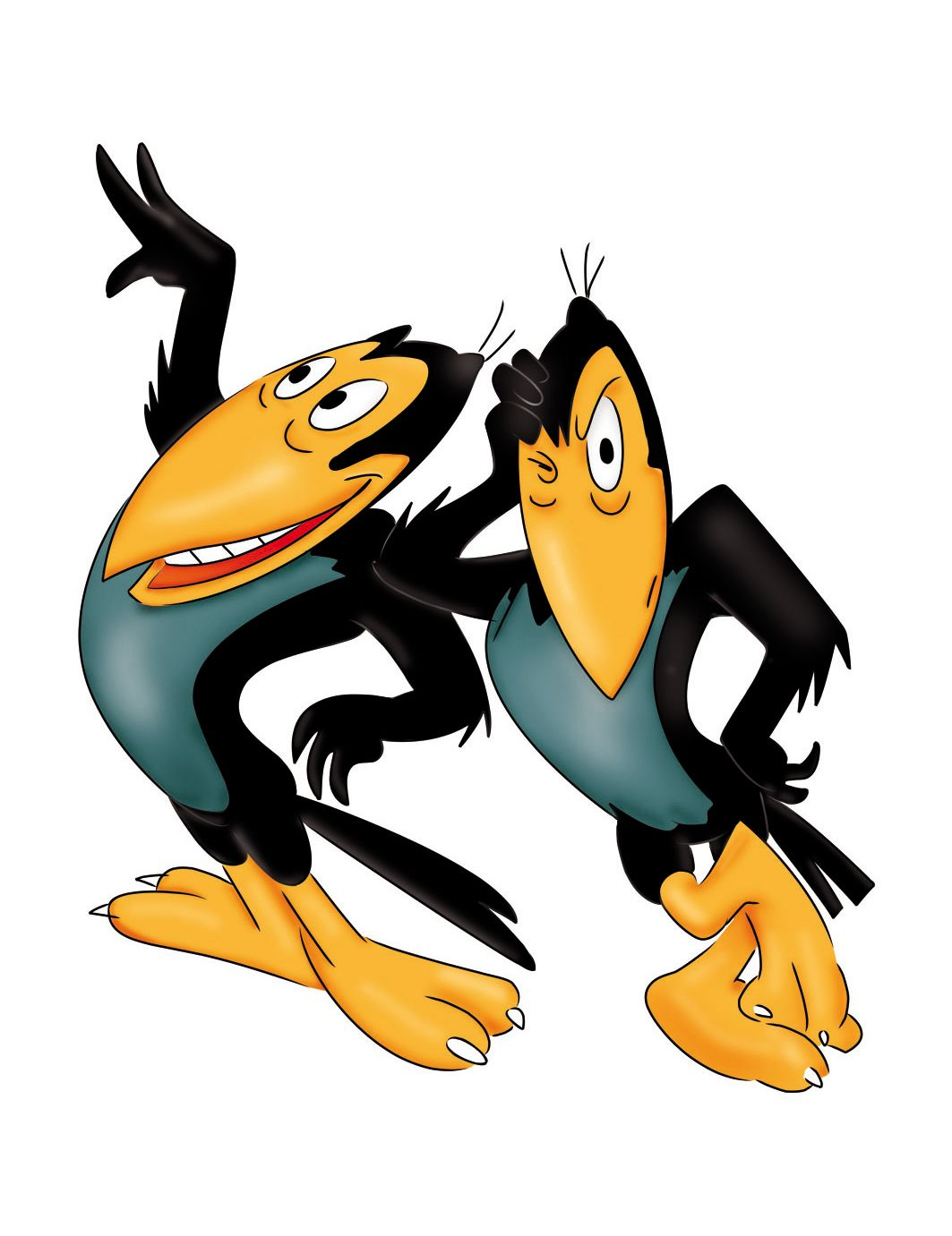 Image result for heckle and jeckle gif