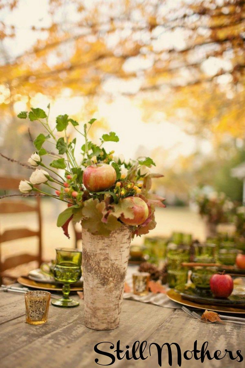 Giving Thanks With A Full Heart Fall Centerpiece Thanksgiving Centerpieces Thanksgiving Decorations