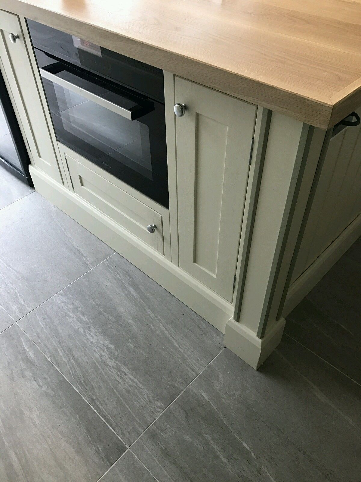 Solid Oak Handmade Kitchen Cabinets Doors In Frame Kitchen