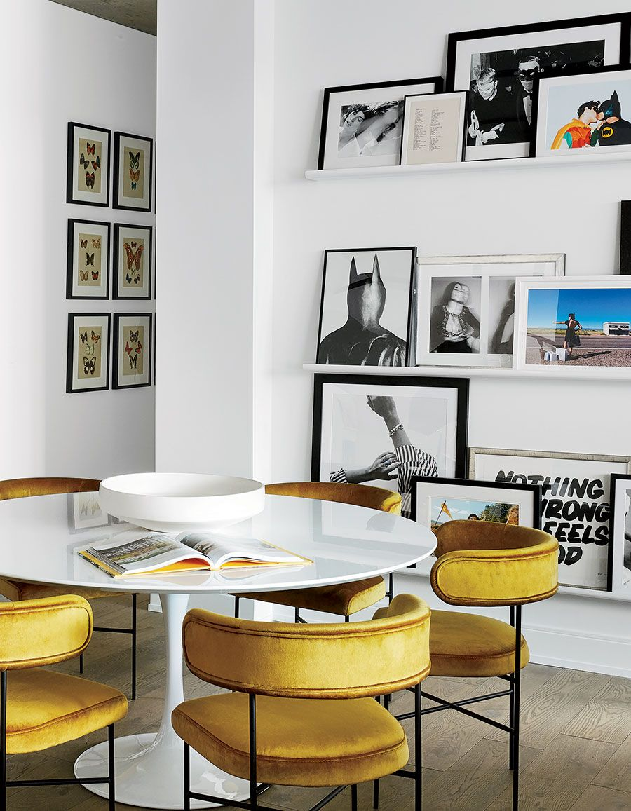 How A Self Help Guru Decorates Her West Loop Home With Images Saarinen Dining Table Timeless Dining Table Eero Saarinen Dining Table