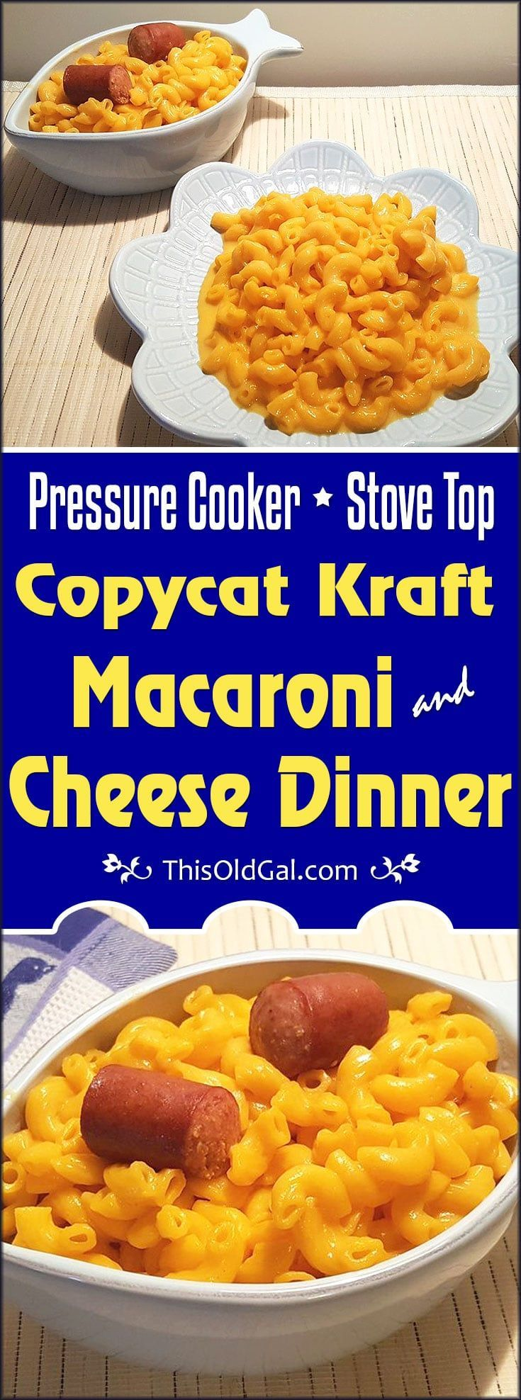 how to make kraft mac and cheese in instant pot