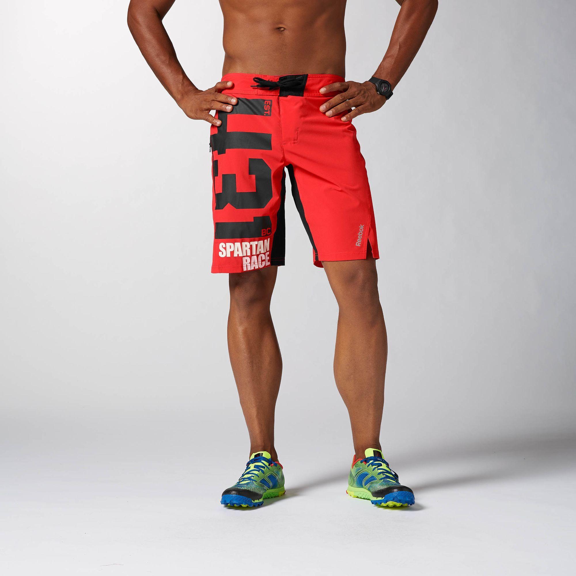 8cd9132bd9 Reebok - Reebok Spartan Board Short | Spartan Race | Reebok crossfit ...
