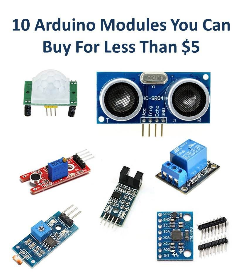 10 Arduino Sensor Modules You Can Buy For Less Than 5