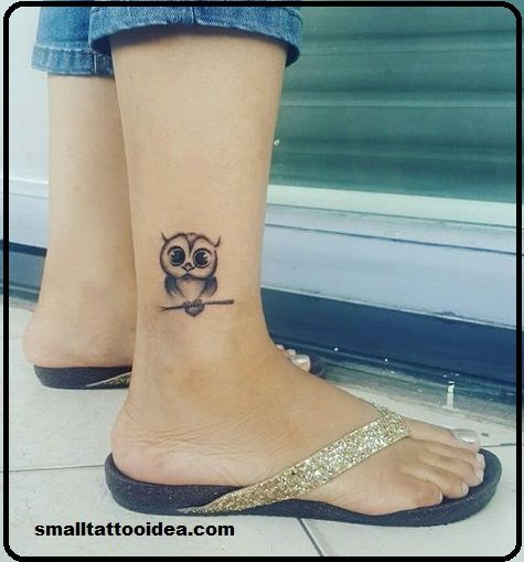 21 Owl Tattoos For Women Ankle Owl Tattoo Small Owl Tattoo Owl Tattoos On Arm
