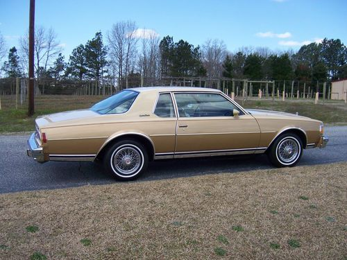 Purchase Used 1977 Caprice Classic 2 Door Aero Coupe Low Mileage Original Time Capsule Loaded In Garner Caprice Classic Best Classic Cars Chevy Caprice Classic
