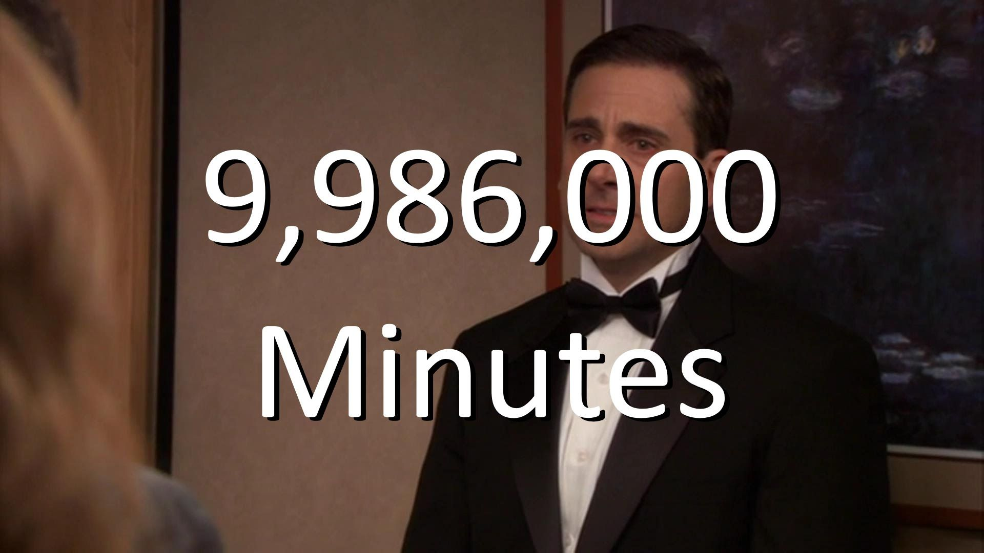The Office 9 986 000 Minutes Michael Scott Farewell Song Office Jokes Office Quotes Funny Office Quotes Michael