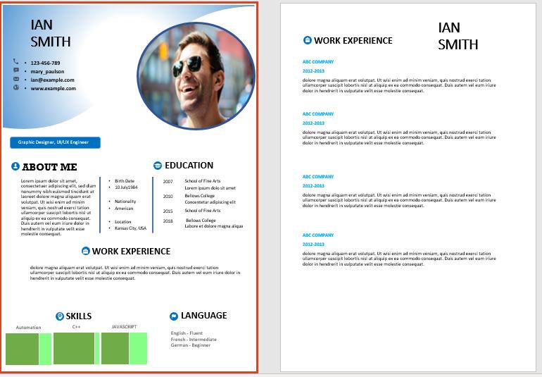 free cv format cv templates cv resume templates resume