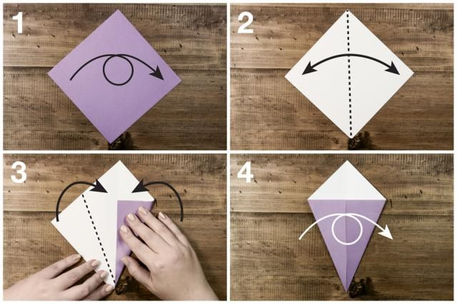 How to make an easy origami swan origami swan easy for Origami swan step by step