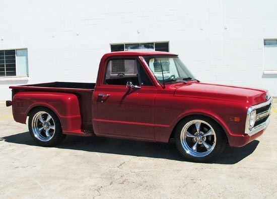 Stepside Chevy Trucks Chevrolet Trucks C10 Chevy Truck