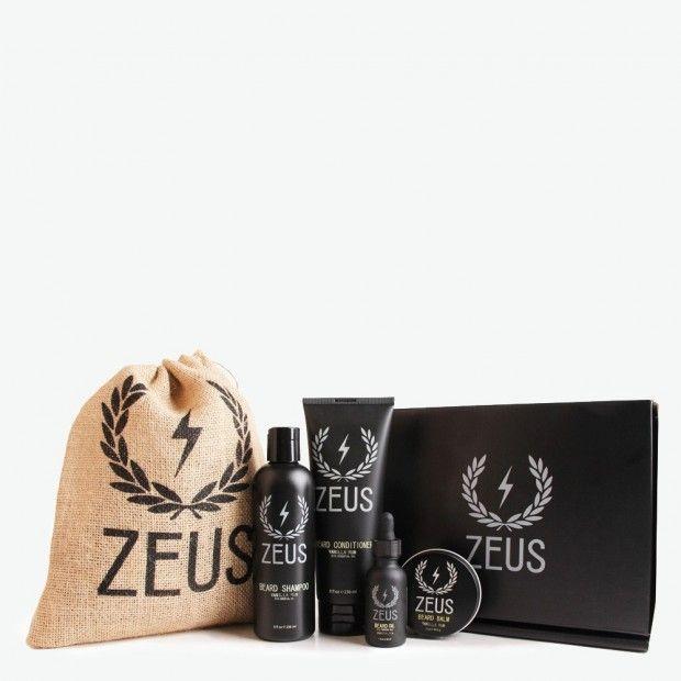 Zeus Everyday Beard Grooming Kit, Vanilla Rum   Beard ...