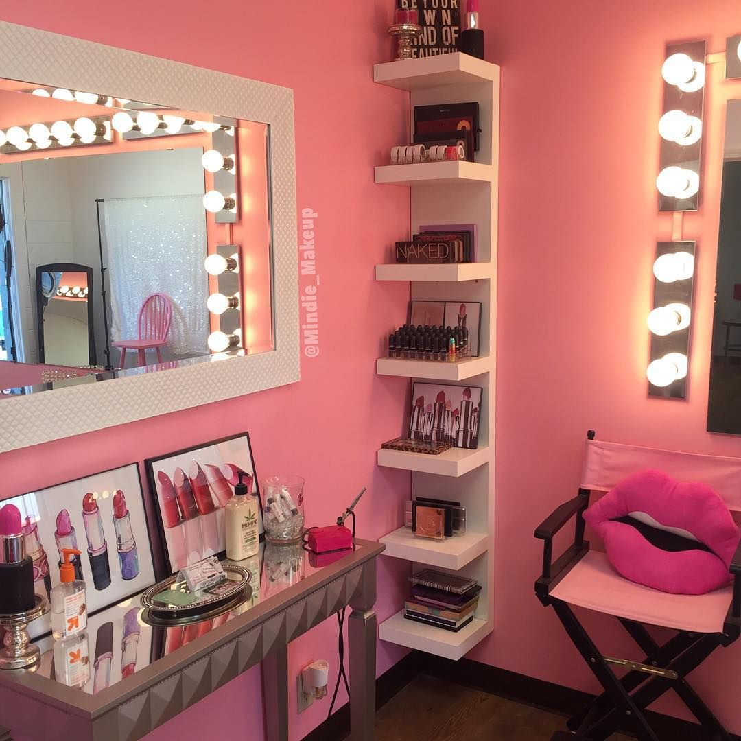 Makeupby Min Makeup Vanities Vanity Rooms Room Desk
