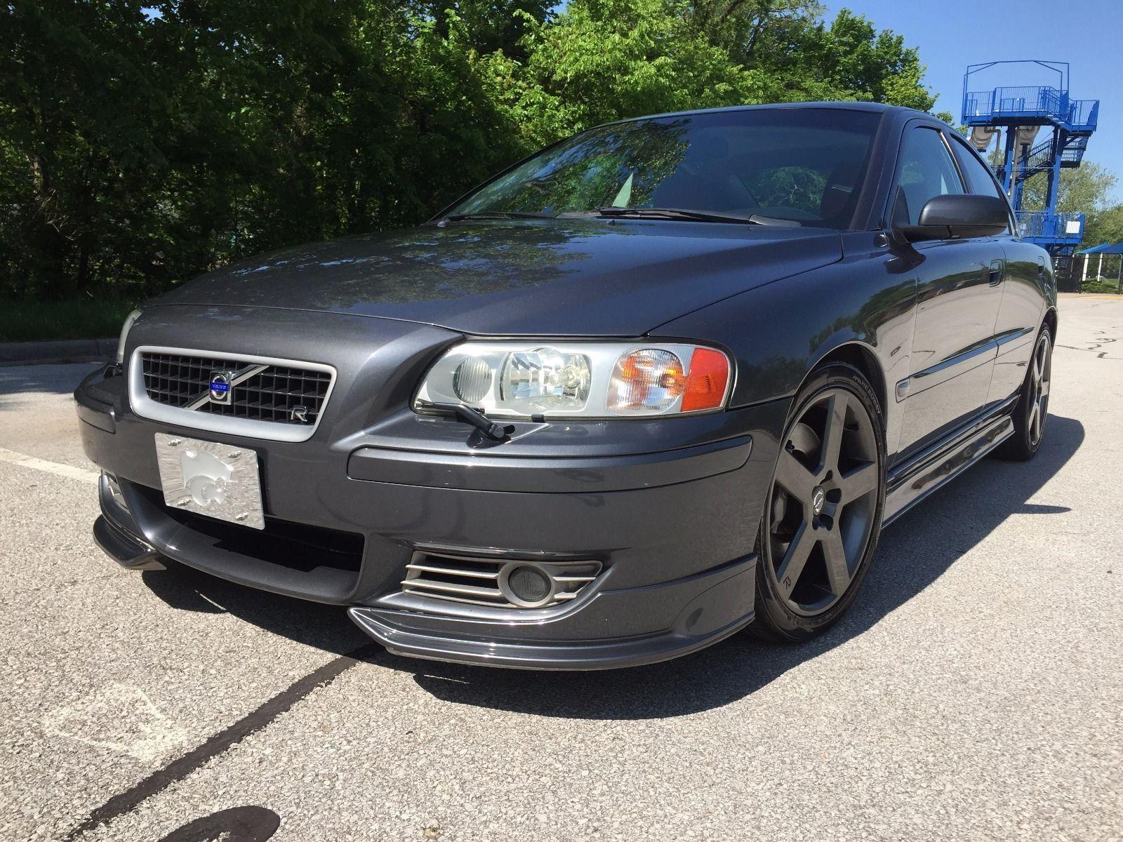 Volvo s60 r 2006 volvo s 60 r 300 hp turbo awd titanium atacama 84