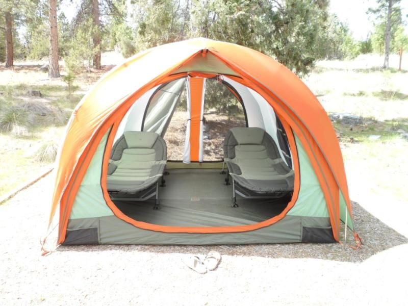 Picture of 2 Comfort Cots inside a Kingdom 4 tent. & Picture of 2 Comfort Cots inside a Kingdom 4 tent. | home ...