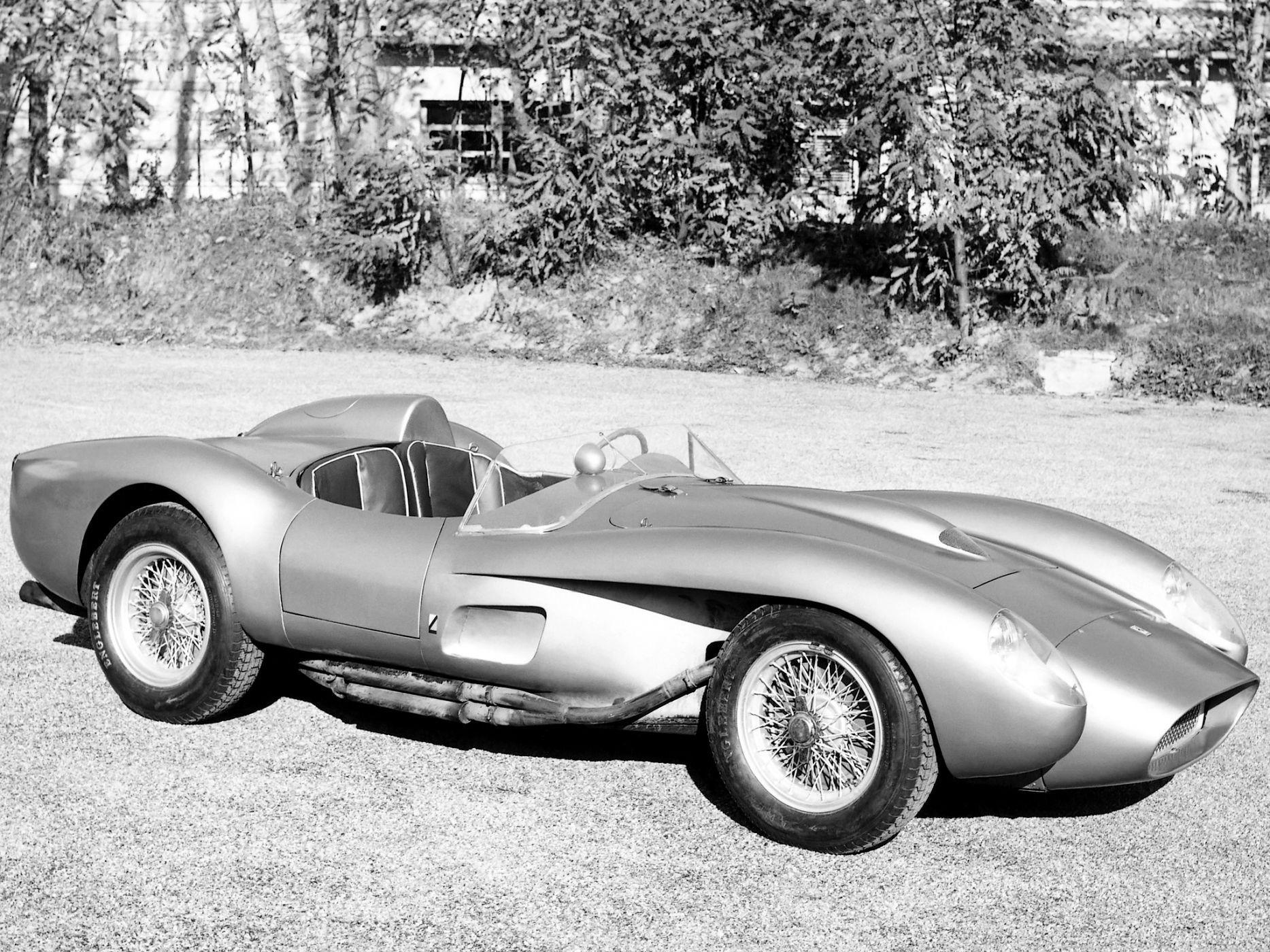 1957 Ferrari 250 Testa Rossa Scaglietti Spyder Supercar Retro Race