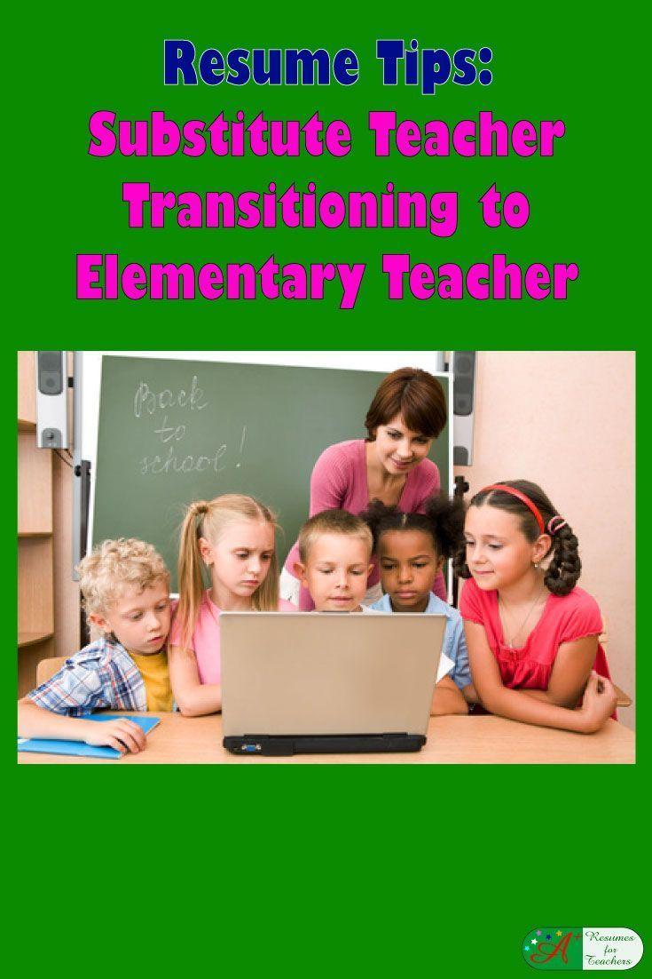 Elementary teacher resume teacher resume substitute