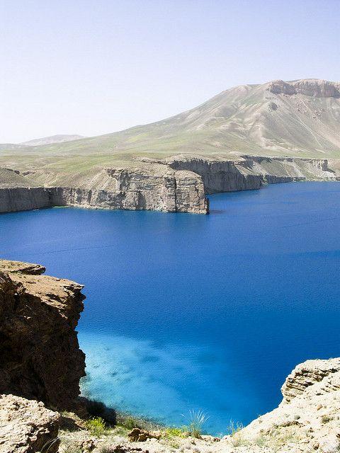 Band-e-Amir, Bamiyan, Afghanistan.