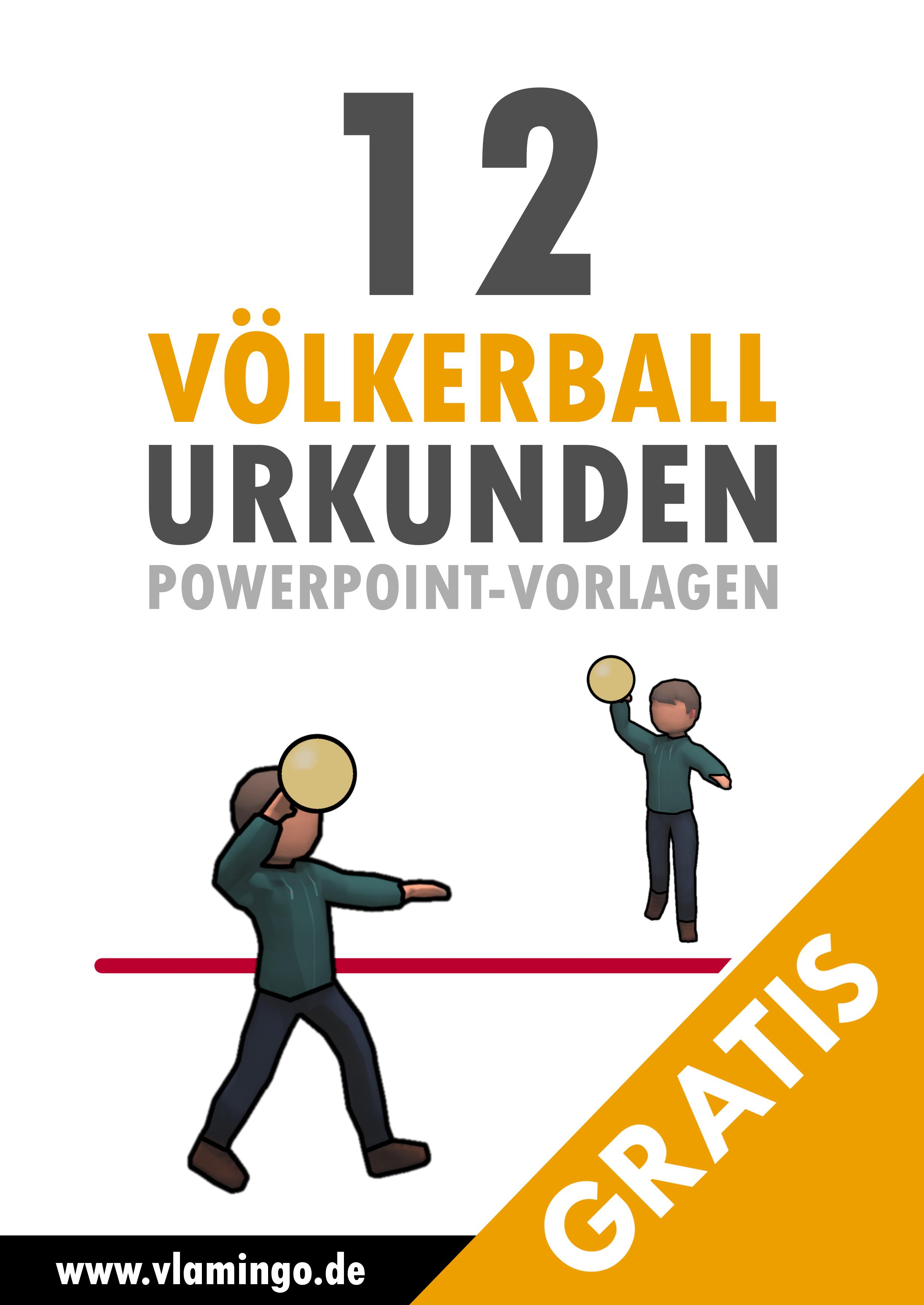 12 Kostenlose Urkunden Vorlagen Fur Volkerball Turniere